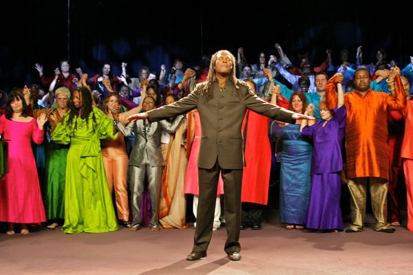 Michael Beckwith & Choir